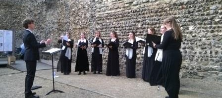 Image gallery: Minerva Voices at Canterbury Castle