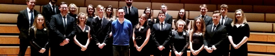 Chamber Choir students work with British composer