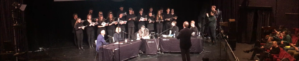 Chamber Choir perform live on Radio 4's Today Programme