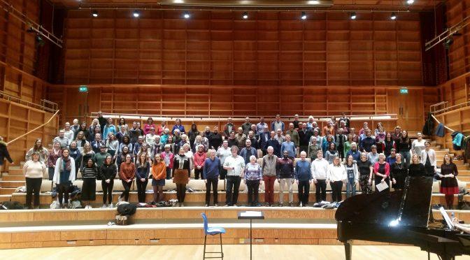 University Chorus prepares to unleash Vivaldi in December concert