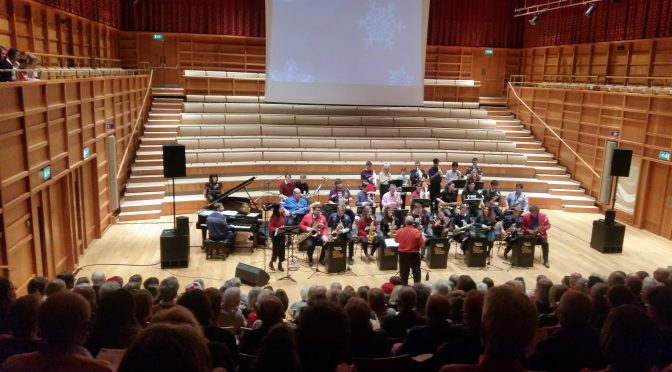 Festive image gallery: Flute Choir, Minerva Voices and the Big Band Swingalong