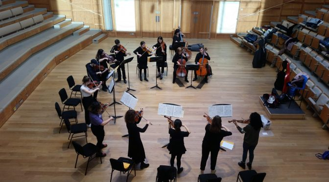 Image round-up: Minerva Voices and the String Sinfonia