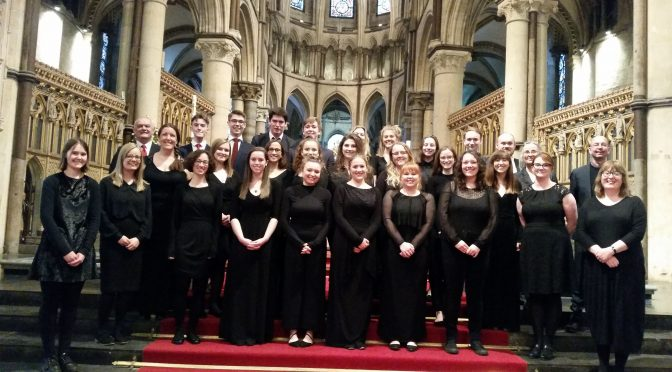 A milestone for the University Cecilian Choir