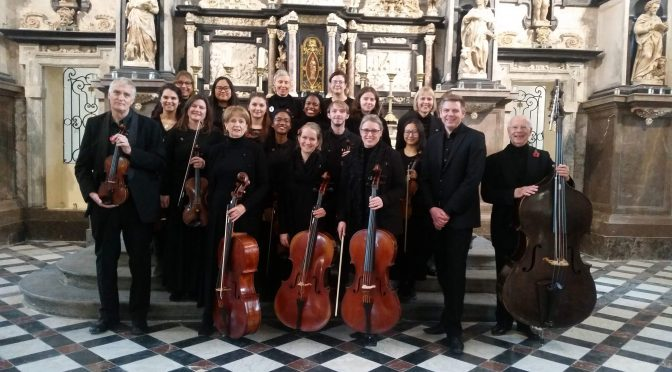 Serenade across the sea: Camerata performs in the city of Calais