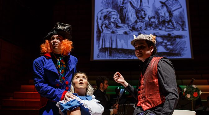 Coming to a screen near you: Alice in Wonderland: a Musical Dream Play