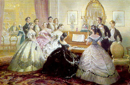 Domestic Parlour Music and beyond in the nineteenth century and its literature