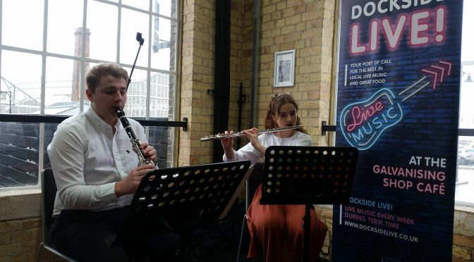 Debussy at Dockside: Music Scholars perform at Medway