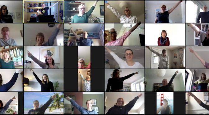 Rock Choir goes virtual!