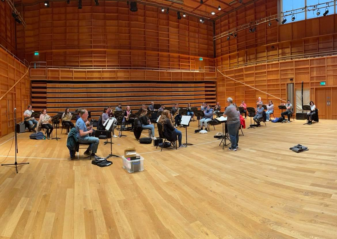 Summer Music Week: back in the hall for the first time since November…