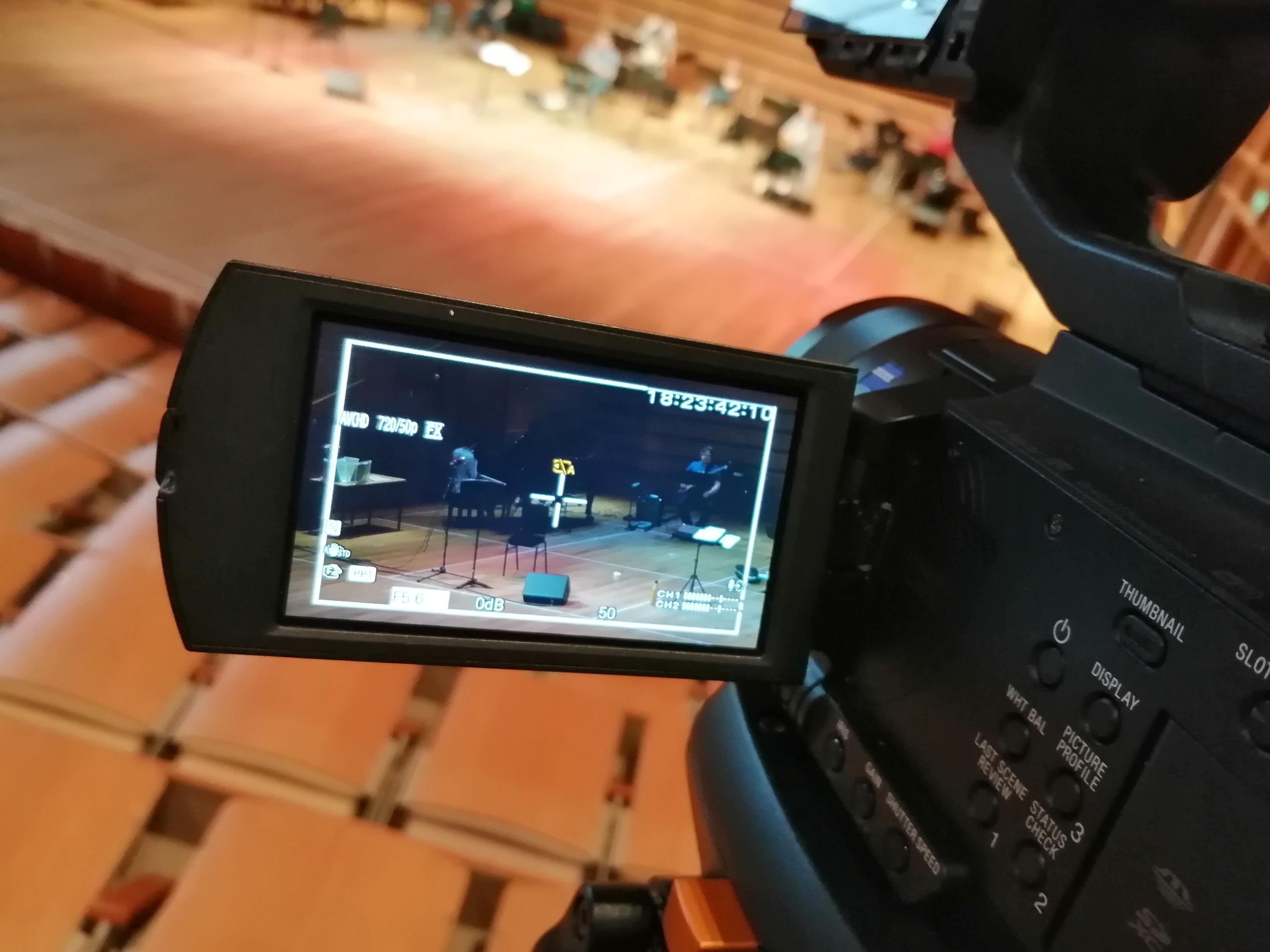 Big Band livestream test a success