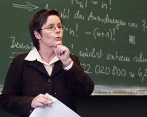 24.10.2007/ Clausthal - Zellerfeld/ TU Clausthal/ Technische Universitaet/ Mathematik / Foto: Olaf Moeldner/ Honorar+7%Ust/ phone: +491723920611