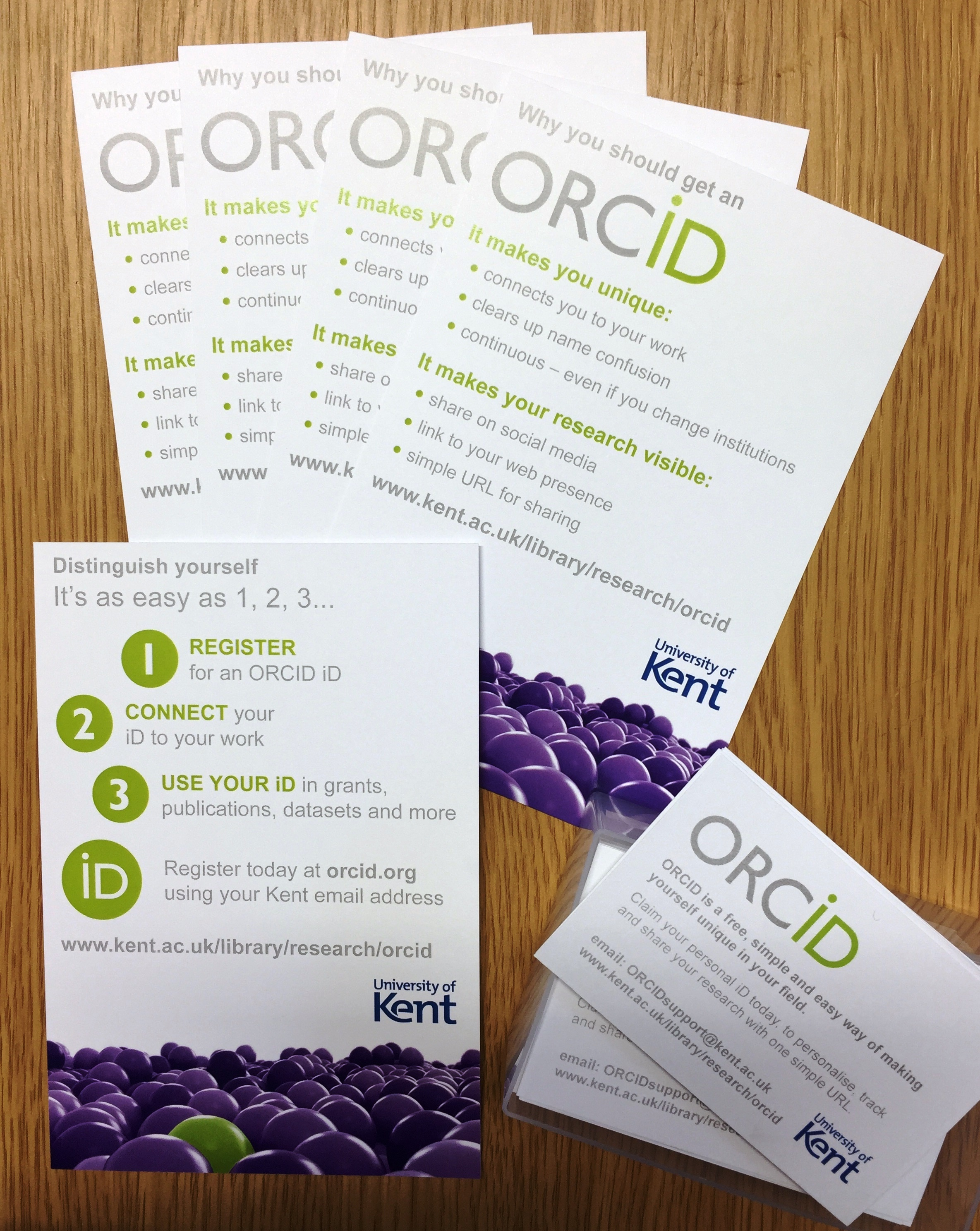 Merchandise and advocates kent early orcid merchandise postcards business cards reheart Image collections