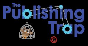 Publishing Trap boardgame logo