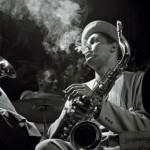 Dexter Gordon photograph by Herman Leonard