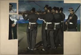 Manet's Execution: still shocking