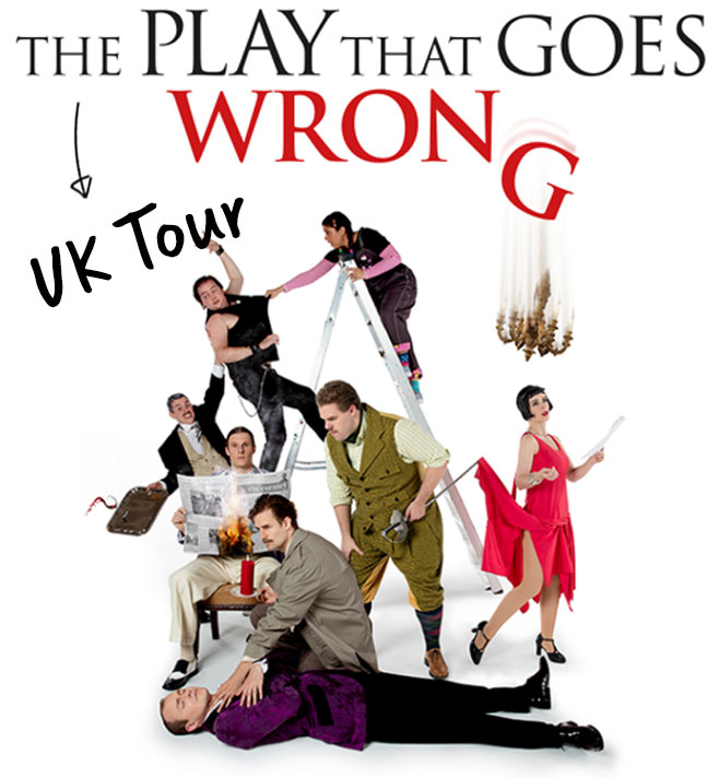 Mischief managed: The Play That Goes Wrong at Canterbury' Marlowe Theatre