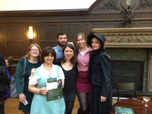 Nothomb and UKP students