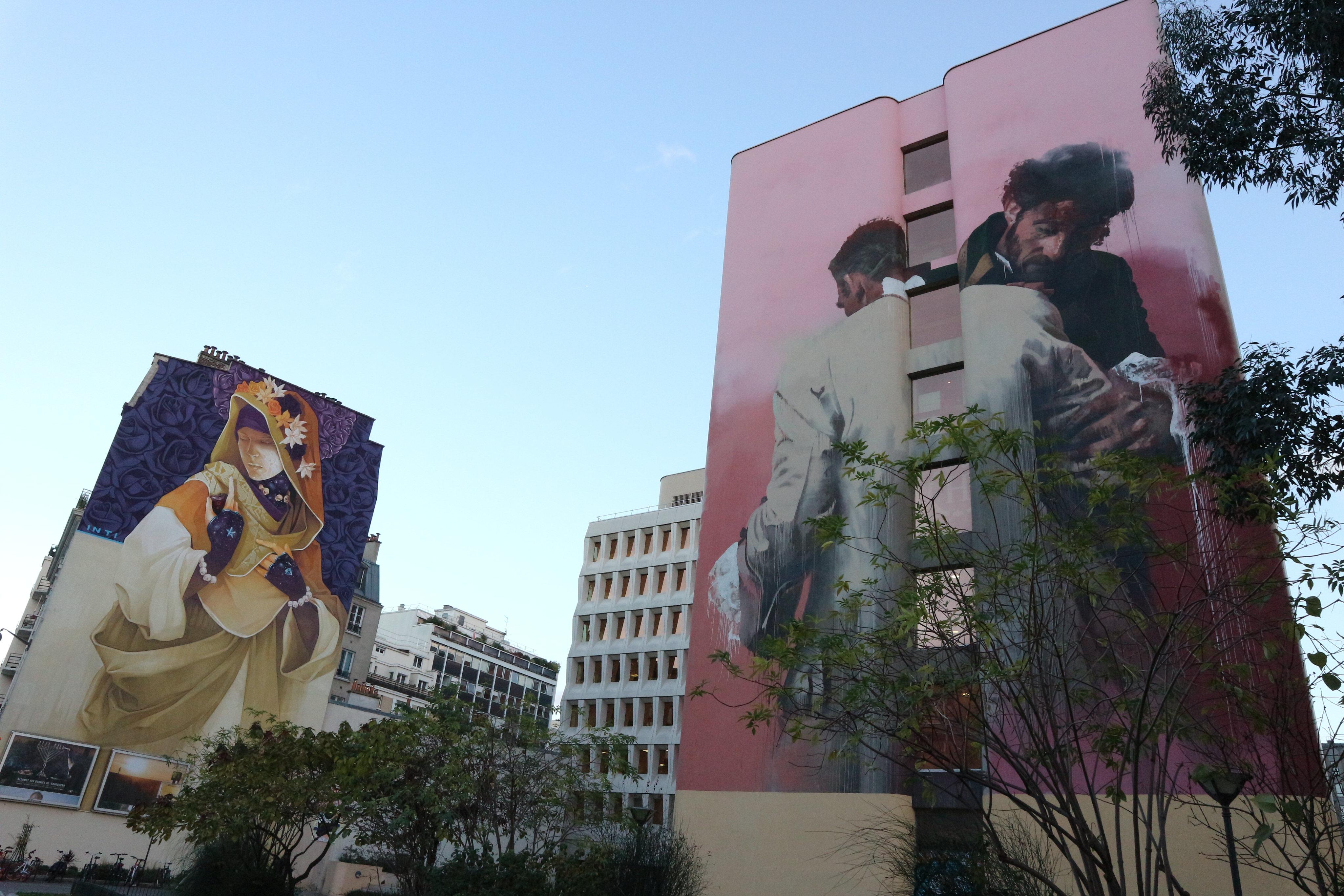 Street Art murals - Paris 75013