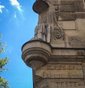 Image of rue de la femme sans tete (rue Le Regrattier)