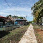 San Martin, a village on the way to the jungle