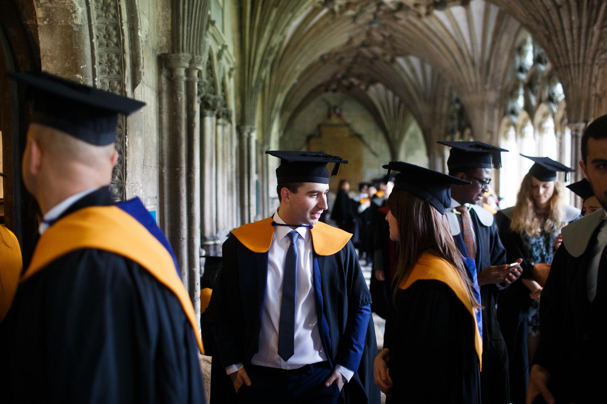 Graduation Ceremony Reception: School Celebrates November Graduates
