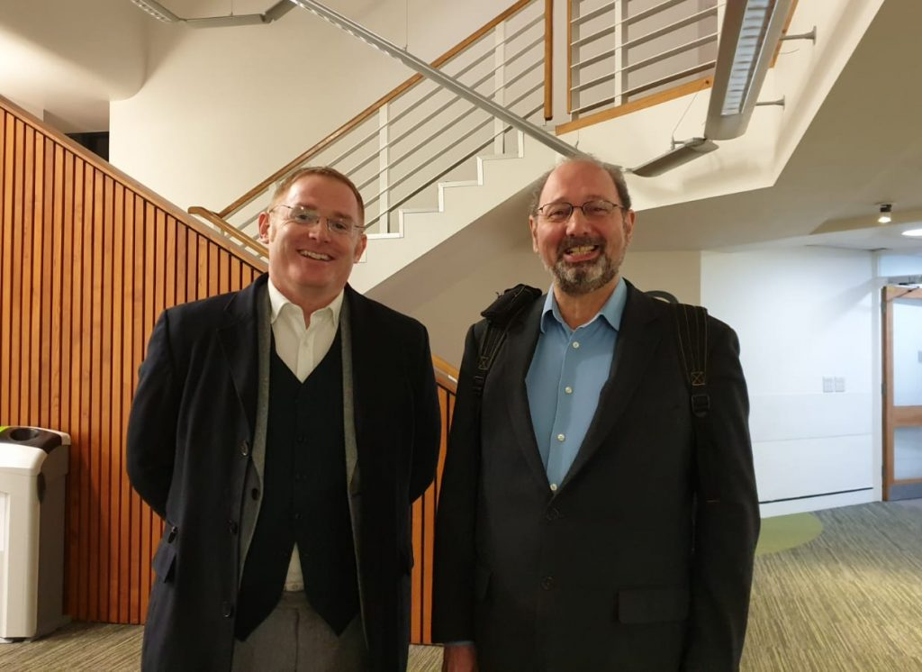 Picture of Dr Andrew Monaghan and Professor Richard Sawka