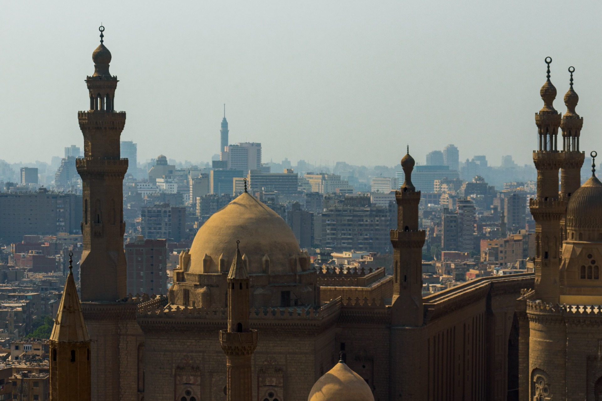 Buildings in Cairo Egypt