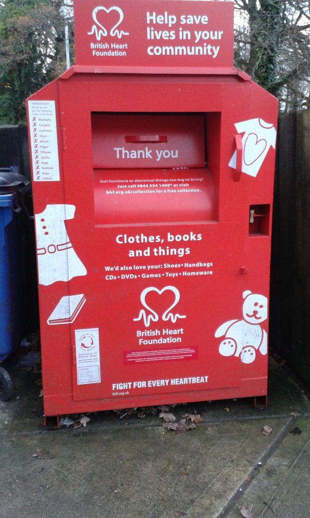 book donation bins near me