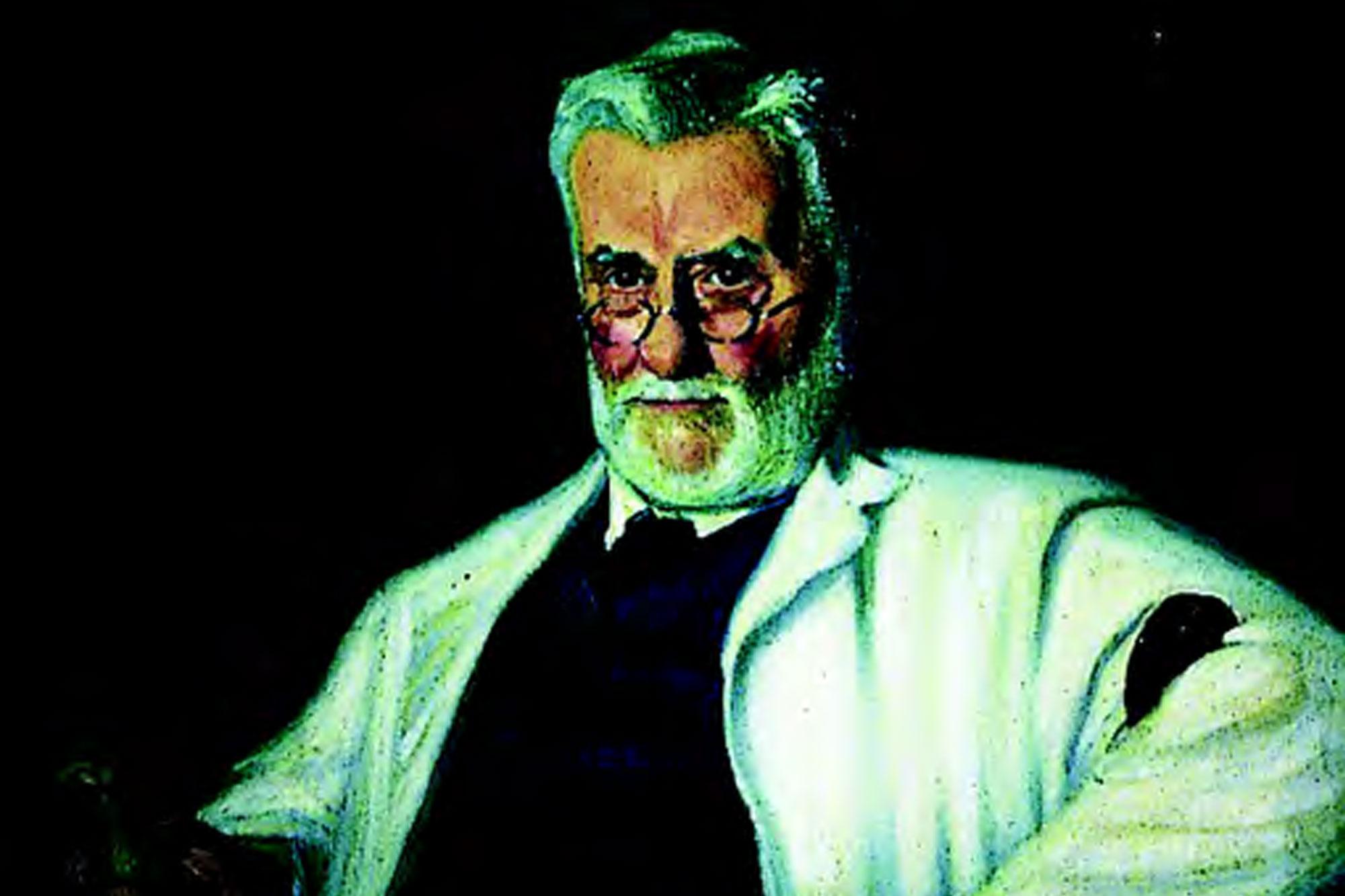 Portrait of Benjamin Harrison