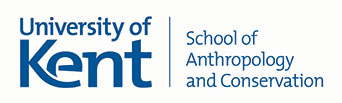 University of Kent/School of Anthropology and Conservation logo
