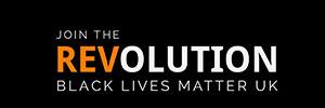Join The Revolution: Black Lives Matter UK logo