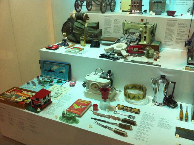 A collection of household items from the 1951 Festival of Britain now on display at the Science Museum.