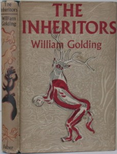 The first edition cover of William Golding's The Inheritors (1955)