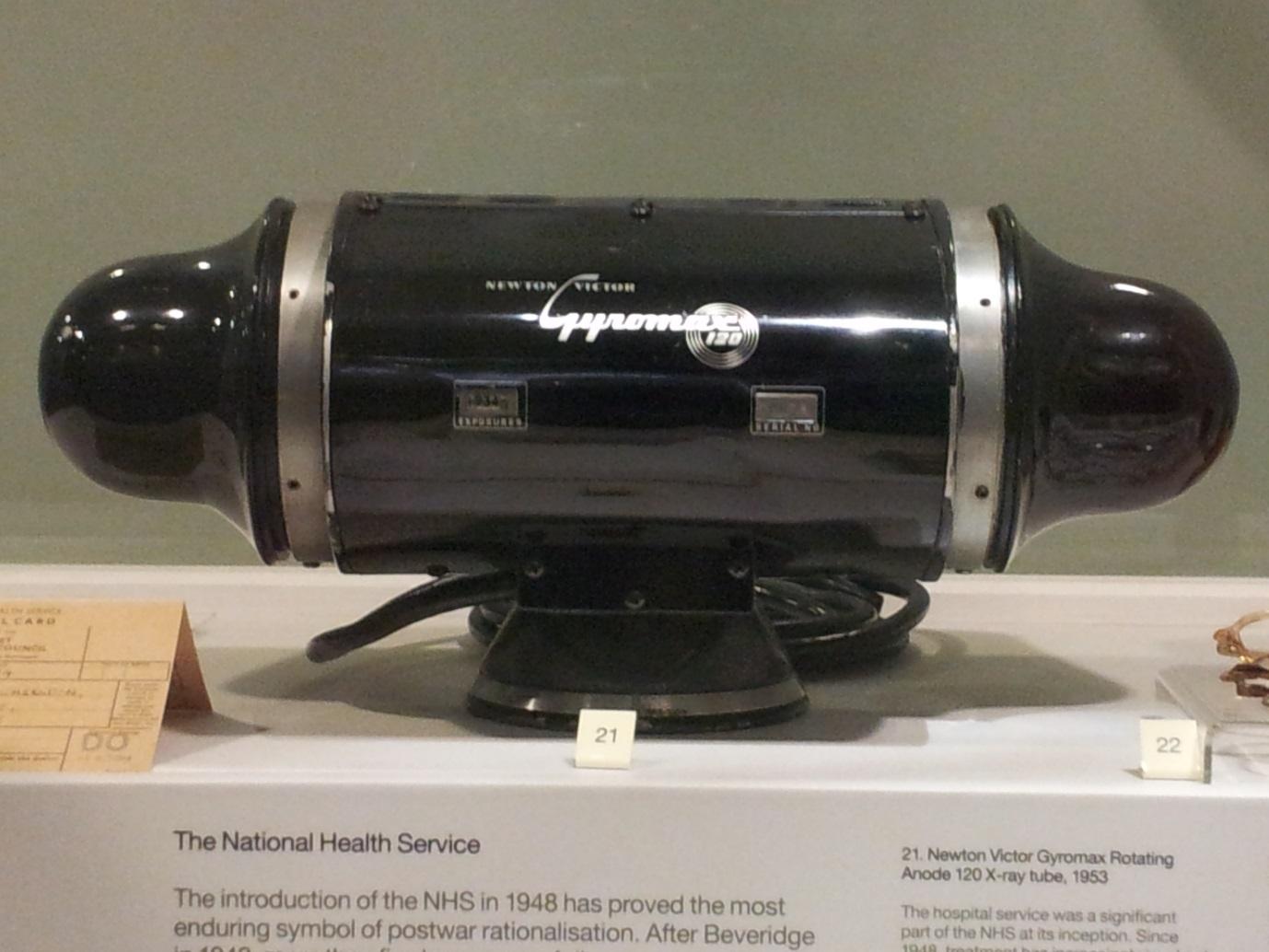 Newton Victor Gyromax Rotating Anode 120 X-ray tube