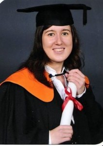 Jessica graduated from the University of Kent in 2013 with an MSc (Distinction) in Science Communication.