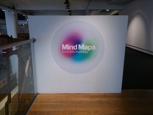 'Mind Maps: Stories from Psychology' exhibition at the Science Museum, London.
