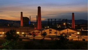 View of the old gasworks, now Technopolis