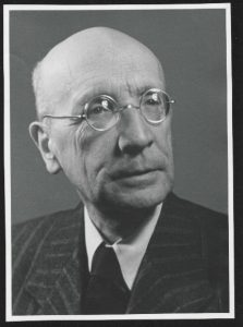 A picture of the German physicist, Walther Kossel.