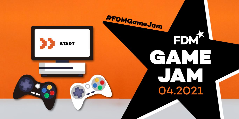 FDM Game Jam poster