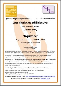 London Legal Support Trust poster