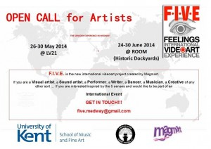 Open Call for Artists_FIVE
