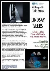 lindsay seers poster