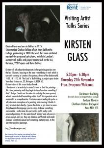 kirsten glass poster