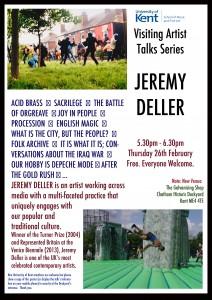 Jeremy Deller Poster