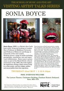 Sonia Boyce. Poster