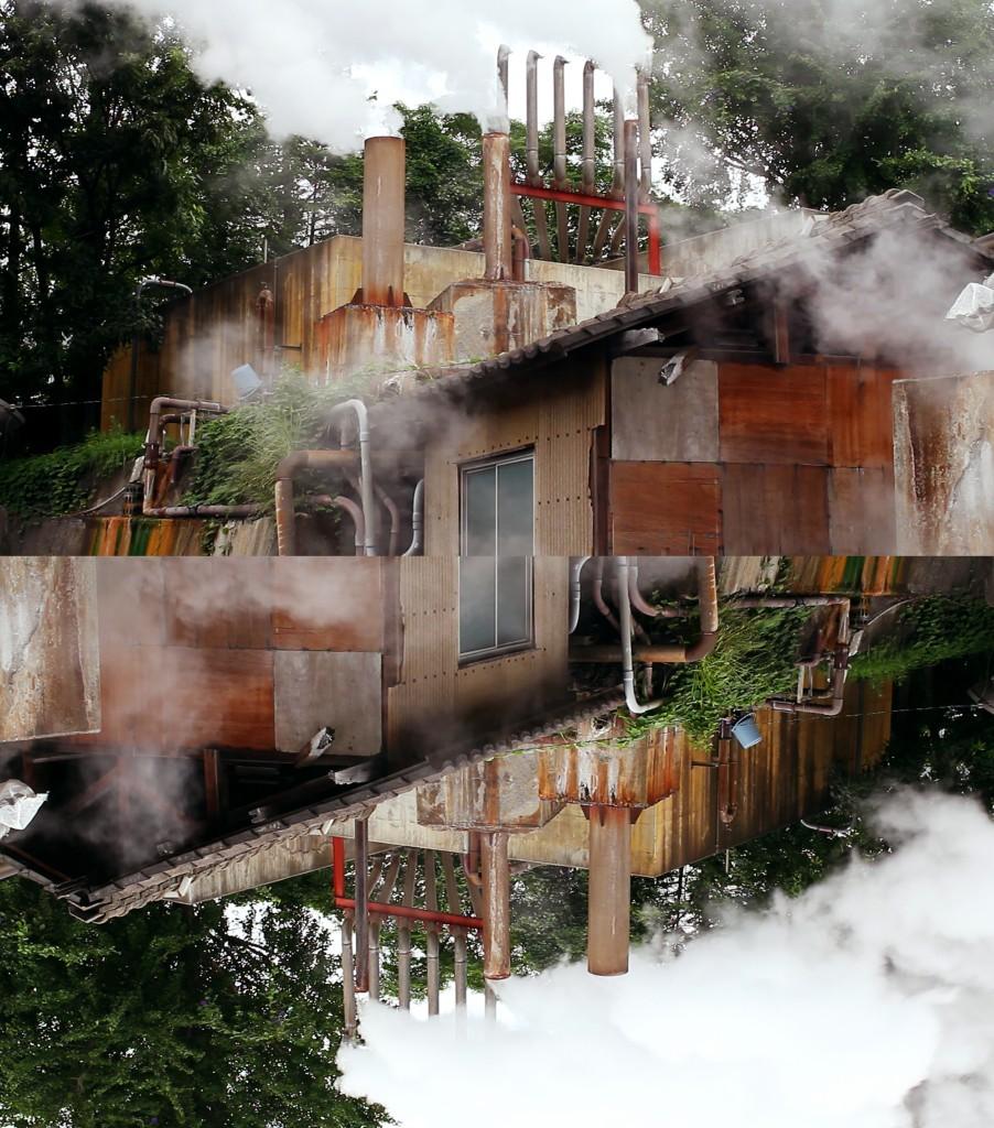 Beppu steam inversion