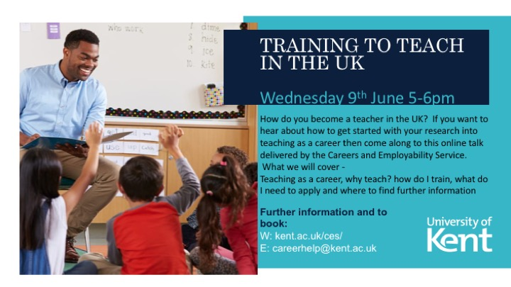 Training to teach poster