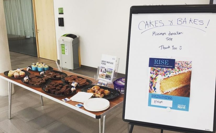 SMSAS rises to the challenge with bake sale in support of the Kent Refuge Fund