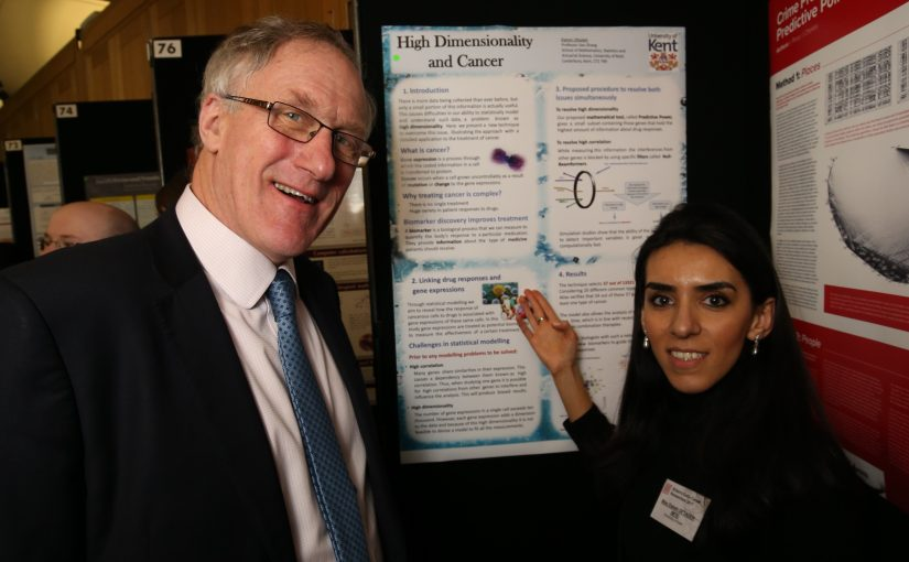 Elaheh exhibits poster at House of Commons