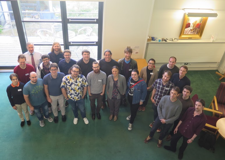 Attendees at the 34th British Topology Meeting held at the University of Warwick
